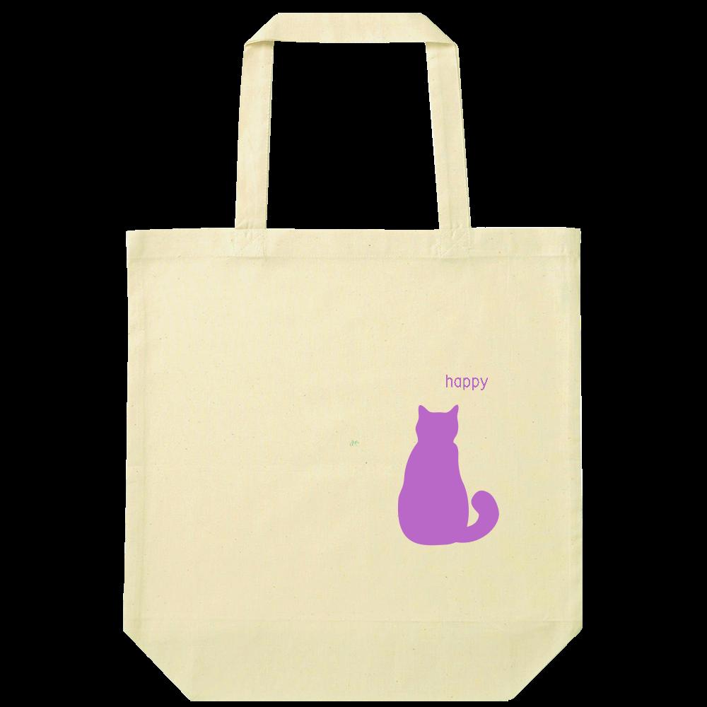 猫トート ナチュラルコットンバッグ