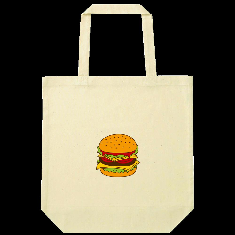ハンバーガー ナチュラルコットンバッグ