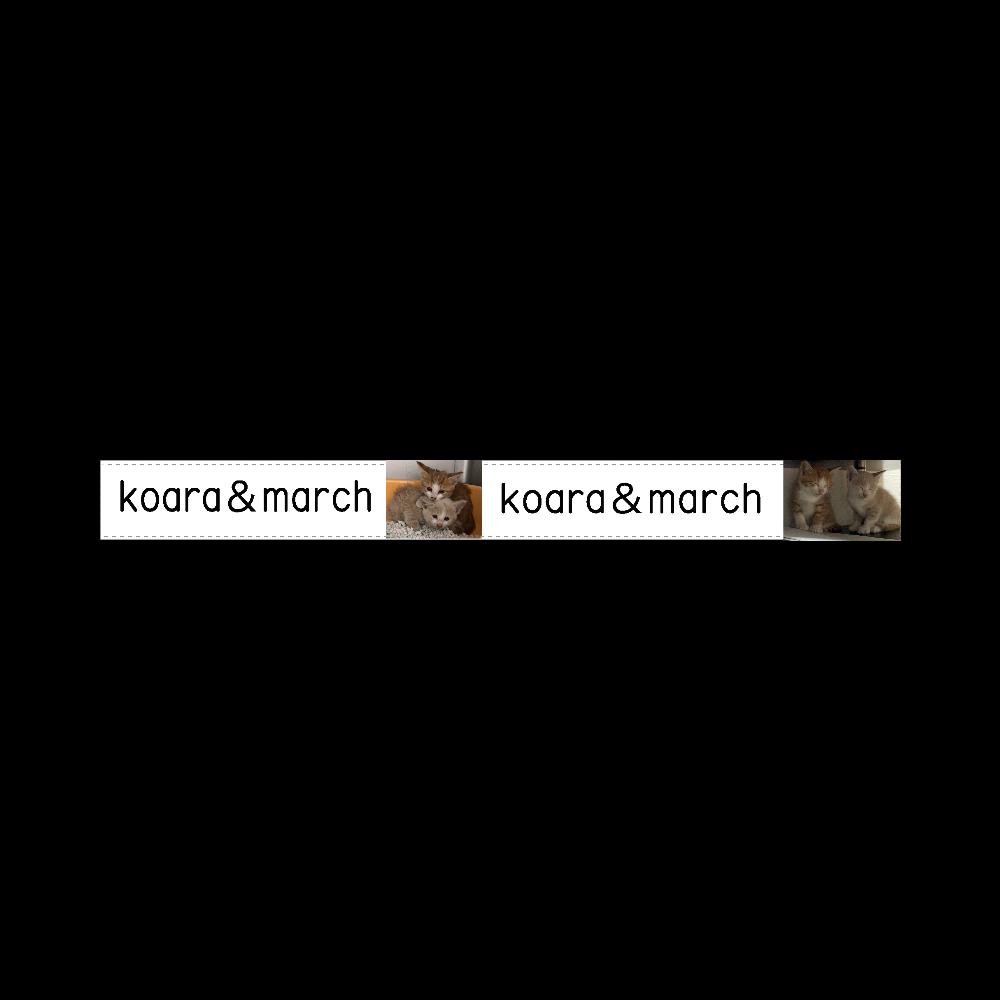 koara&march ♡ 20mmマスキングテープ