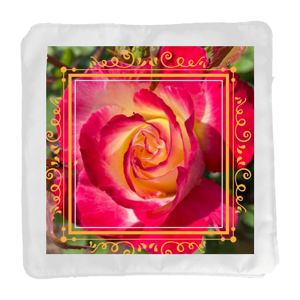 Big flower 「2021年7月22日 08:52」に作成したデザイン クッションカバー(小)カバーのみ