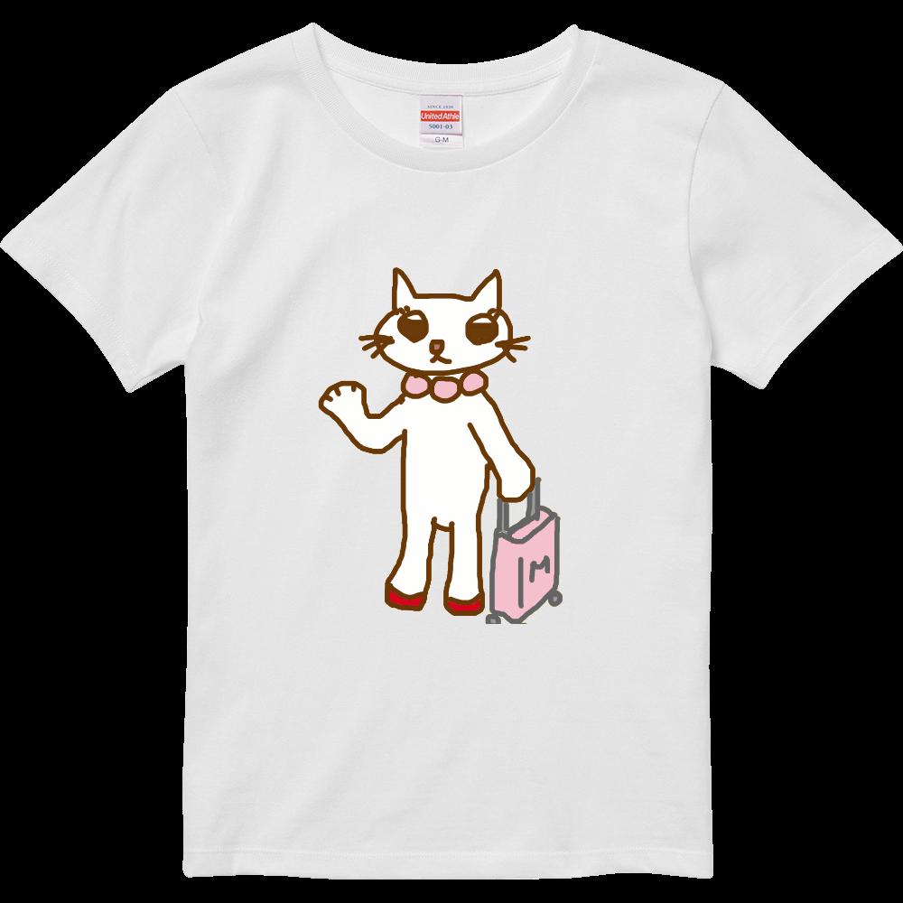 りぼんちゃんTシャツガールズ ハイクオリティーTシャツ(ガールズ)