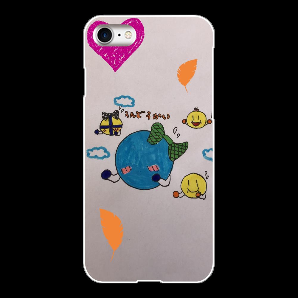 うんどうかい iPhone8(白)