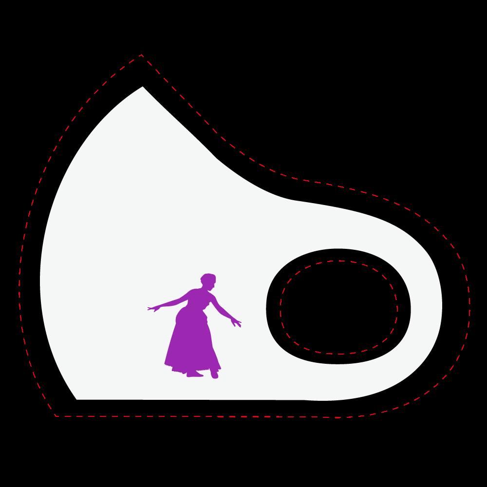 姫 マスク スポーツマスク
