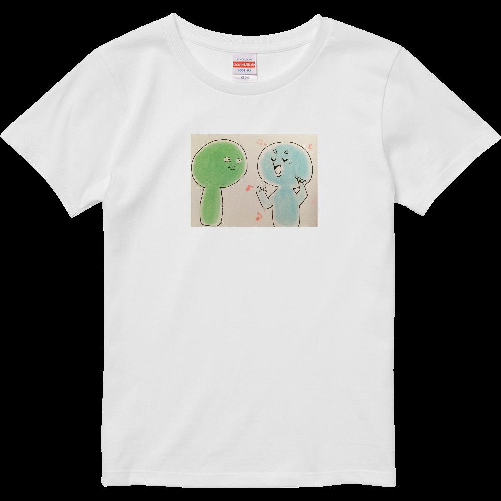 ふたり ハイクオリティーTシャツ(ガールズ)