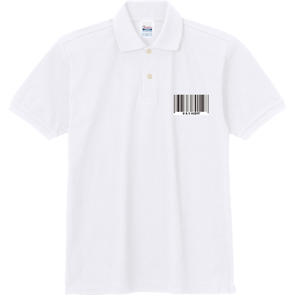 B&S AGENT 定番ポロシャツ