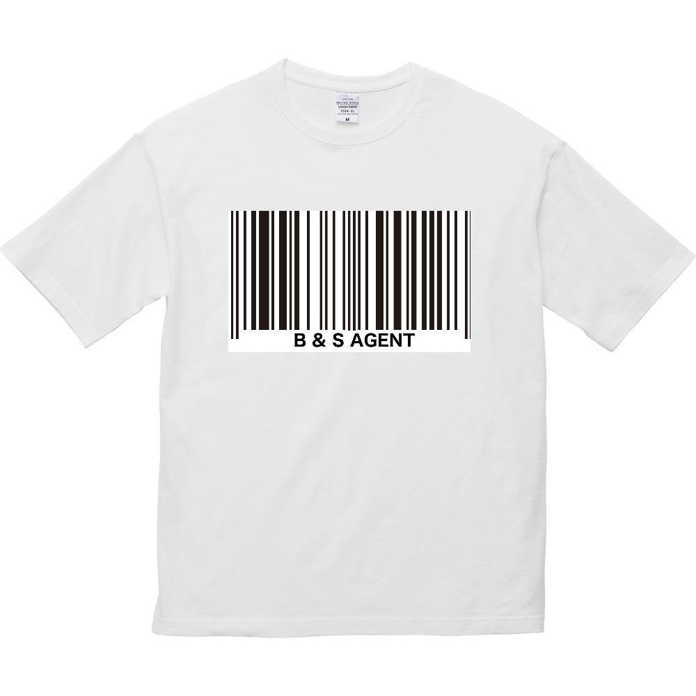 B&S AGENT 5.6オンス ビッグシルエット Tシャツ