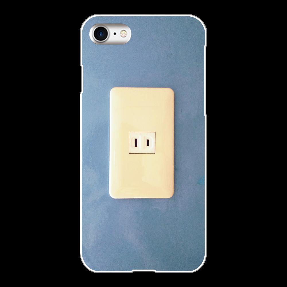 コンセント iPhone8(白)