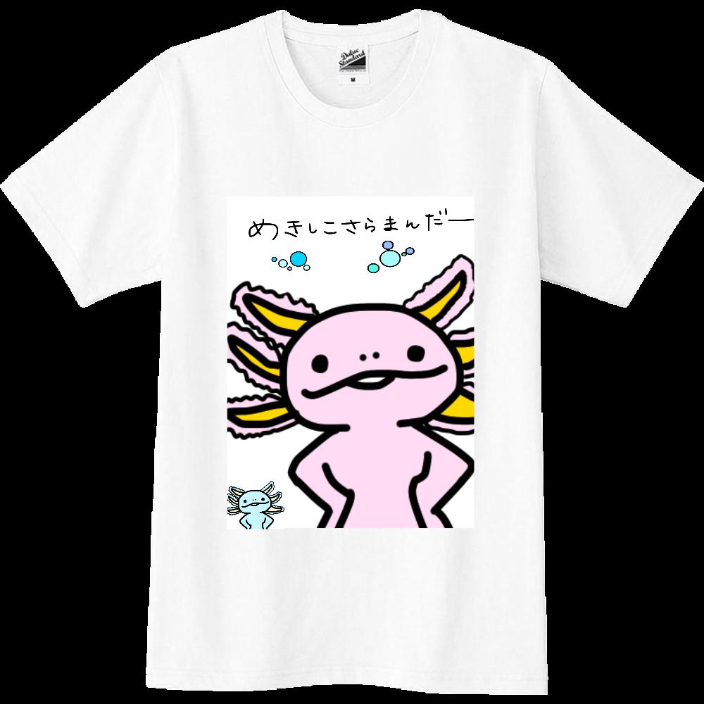 めきしこさらまんだーTシャツ スリムTシャツ