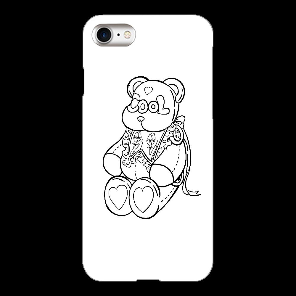 COOLテディベア iPhone8(白)