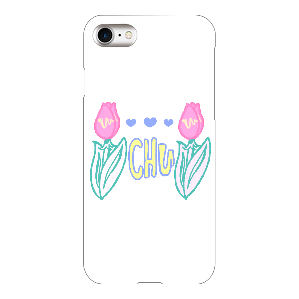 CHU〜リップ ノーマルver iPhone8(白)