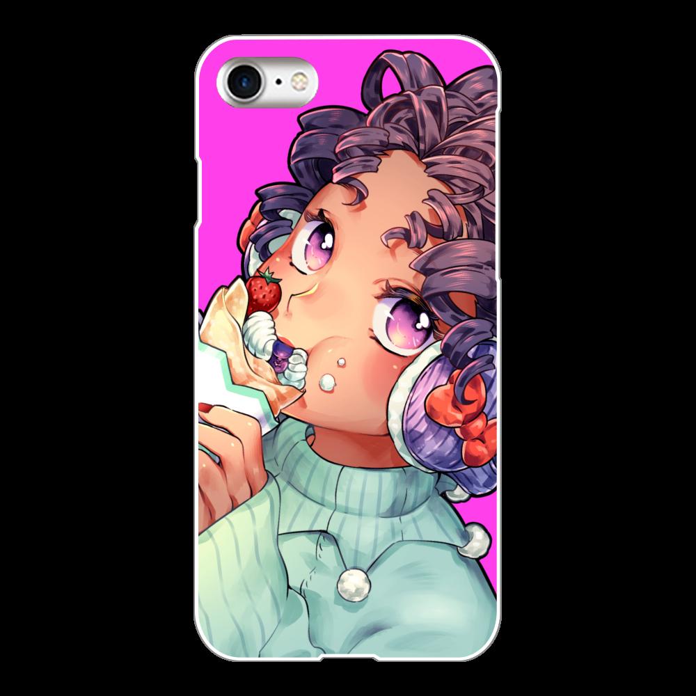クレープちゃん iPhone8(白)