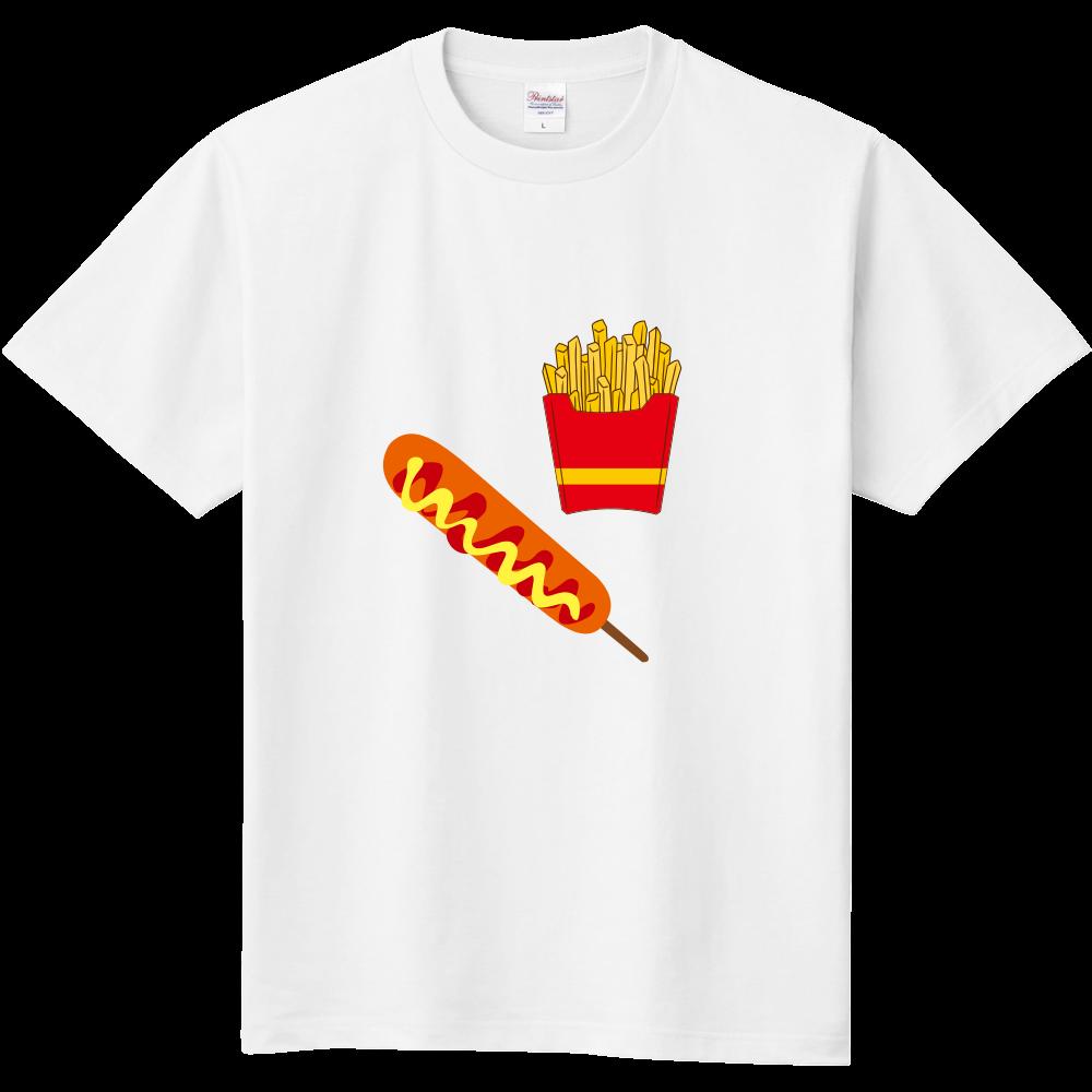 ポテトとフランク 定番Tシャツ