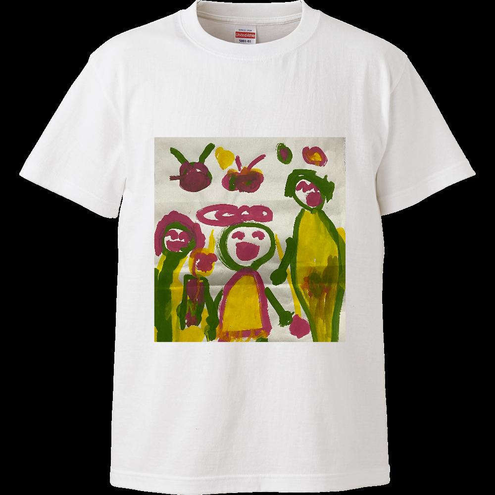 みんなの笑顔 ハイクオリティーTシャツ