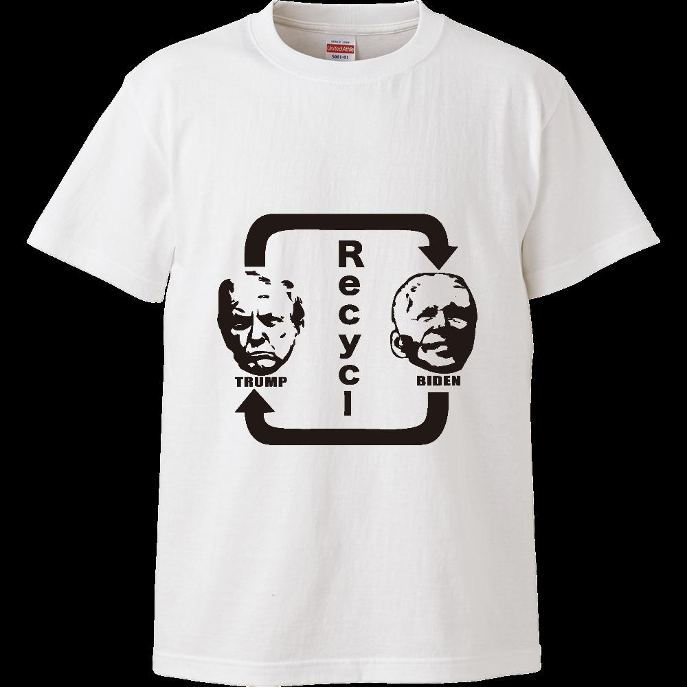 Recycl USA ハイクオリティーTシャツ