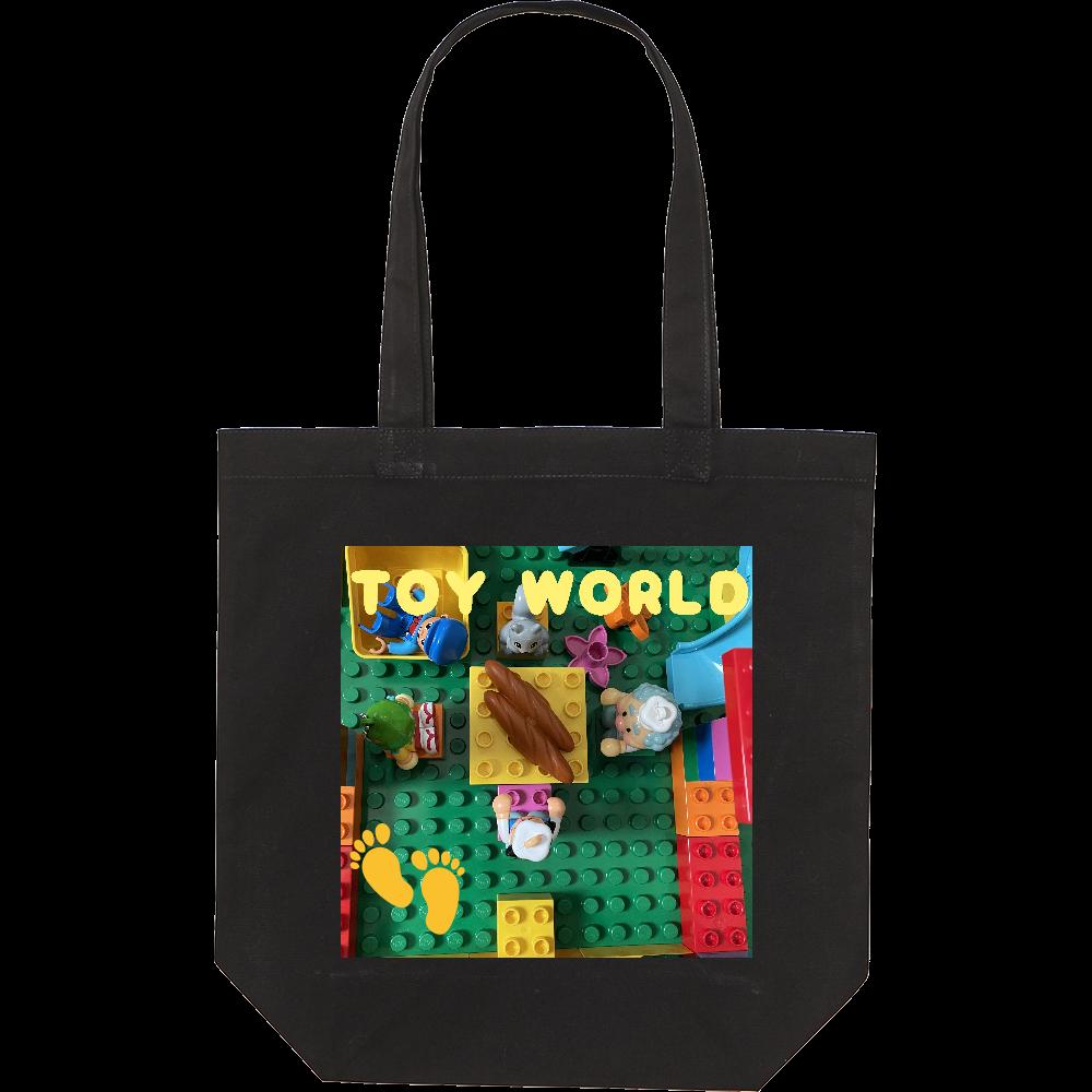 TOY WORLD(おもちゃの世界へようこそ) スタンダードキャンバストートバッグ(M)