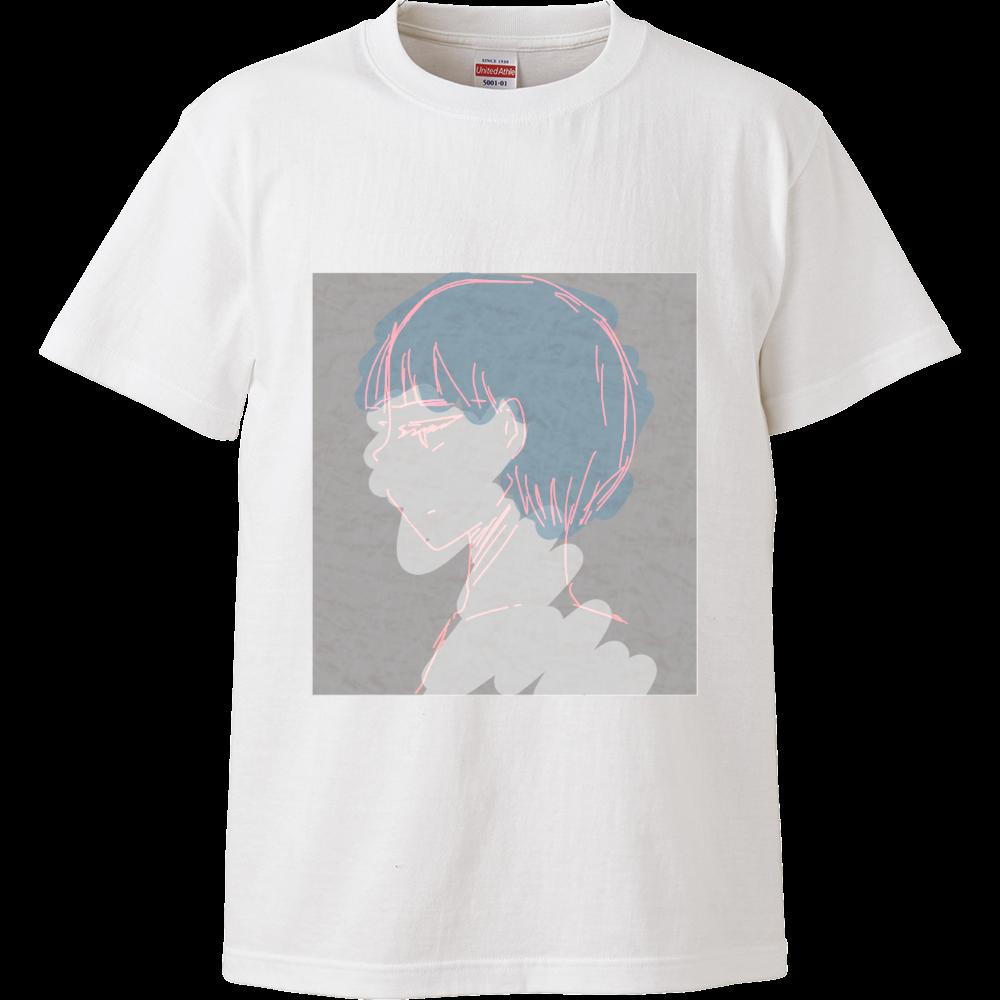 あおがみちゃん ハイクオリティーTシャツ