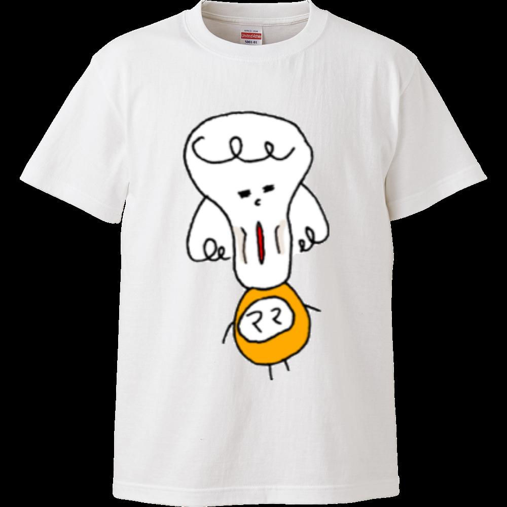 ママ絶句な日々 ハイクオリティーTシャツ