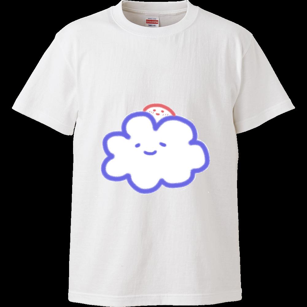 くもさんと太陽さん ハイクオリティーTシャツ