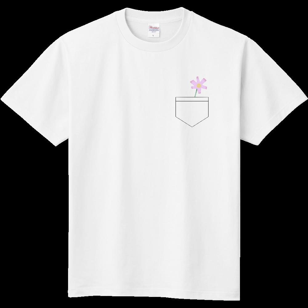 ポッケにお花 定番Tシャツ