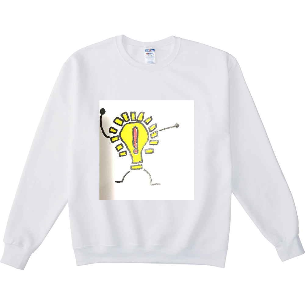 ライトくん NUBLENDスウェットシャツ