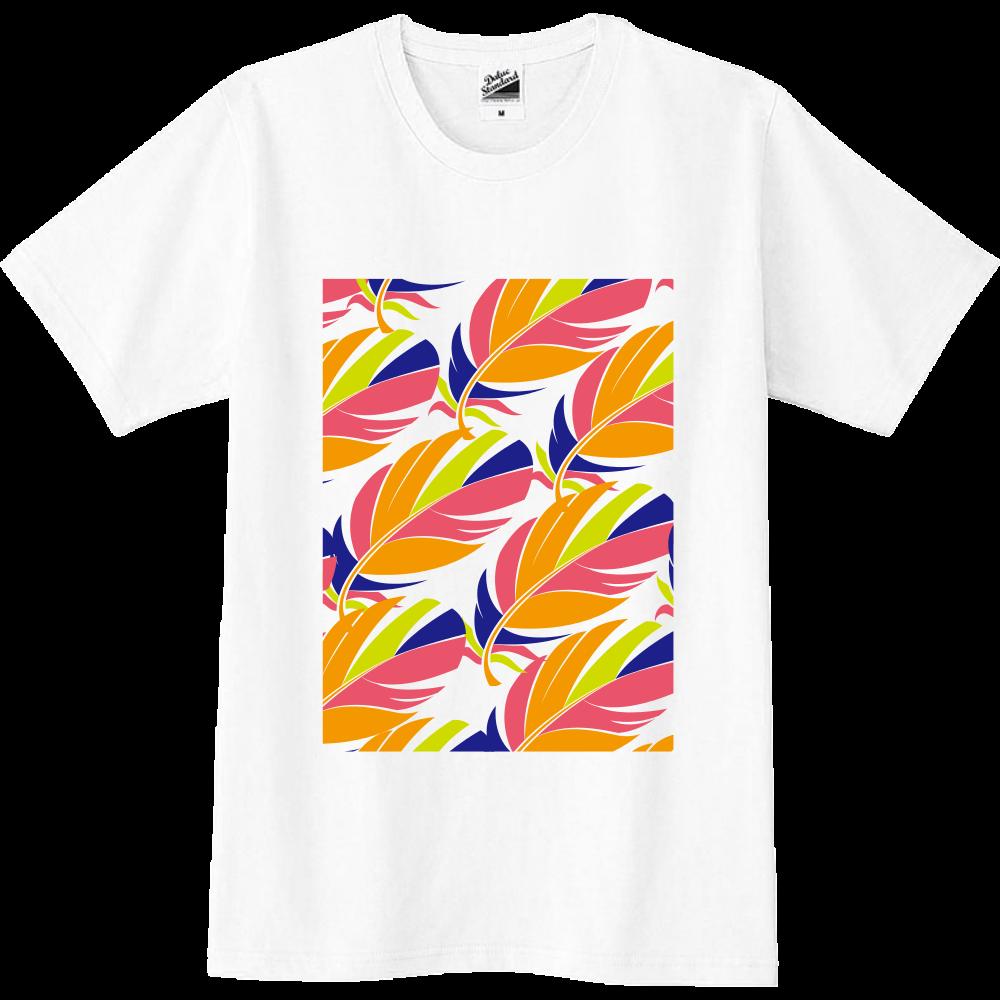 鳥の羽 Tシャツ スリムTシャツ