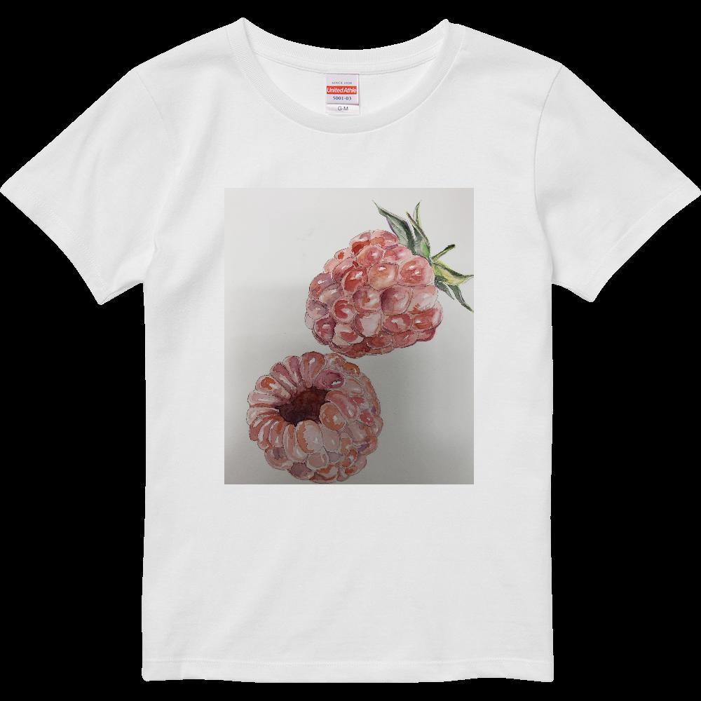 ラズベリーのティシャツ ハイクオリティーTシャツ(ガールズ)