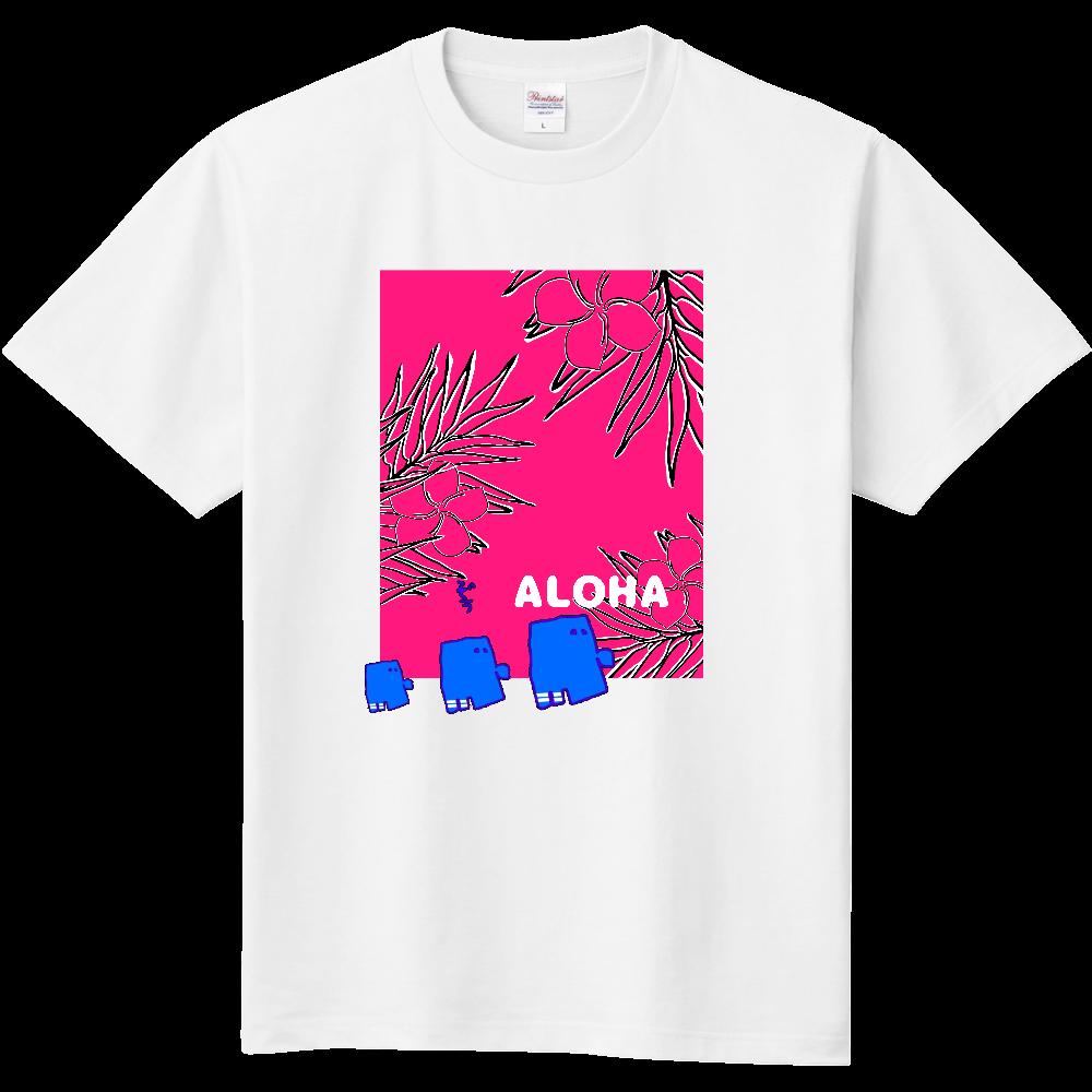 RAKUGAKI ALOHA ぞうさん 定番Tシャツ
