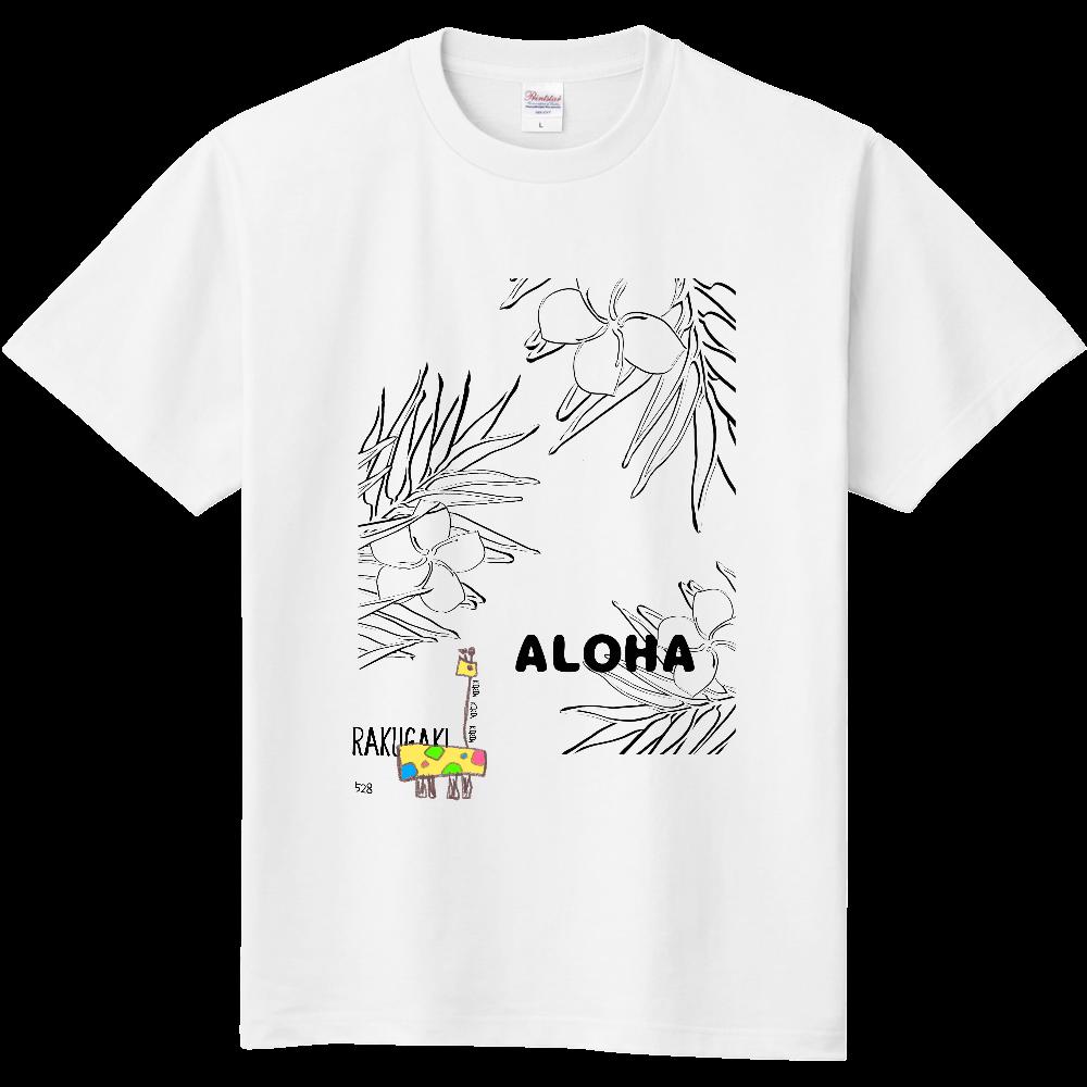 RAKUGAKI ALOHA きりんさん 定番Tシャツ