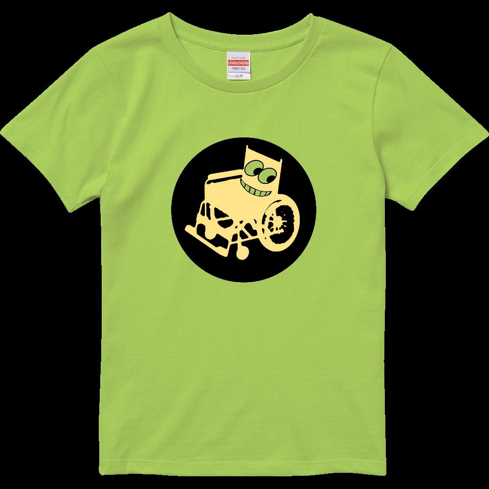 車いすくんTシャツ ハイクオリティーTシャツ(ガールズ)