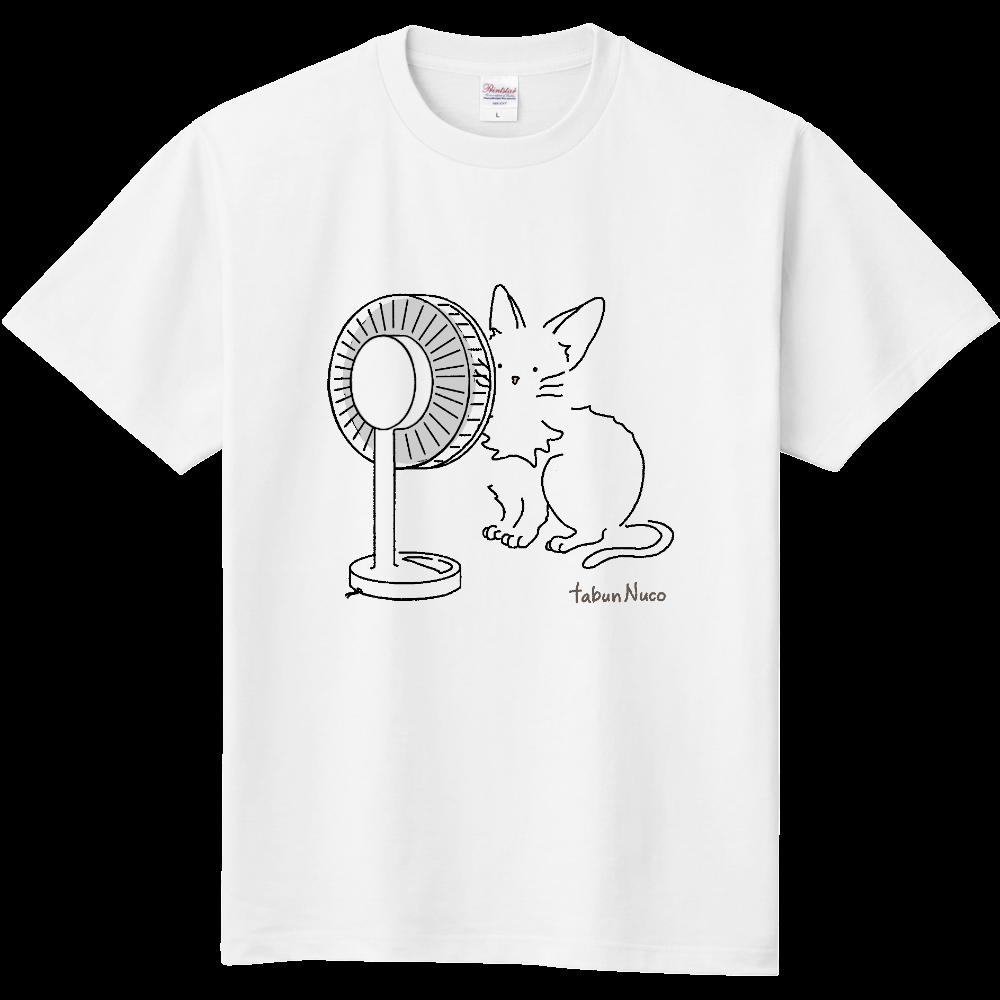 tabun Neko(扇風機)/定番Tシャツ 定番Tシャツ