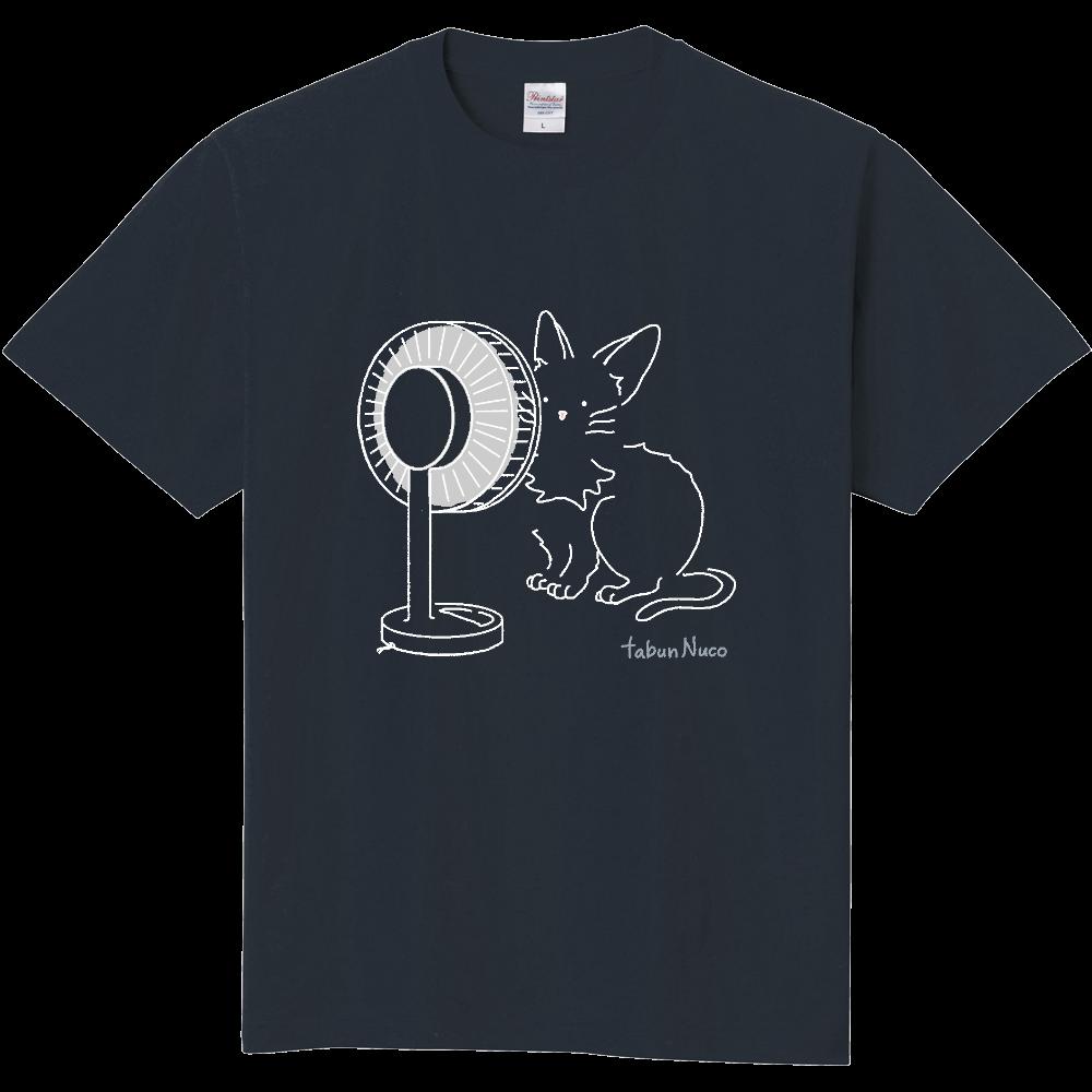 tabun Neko(扇風機)/darkcolor/定番Tシャツ 定番Tシャツ
