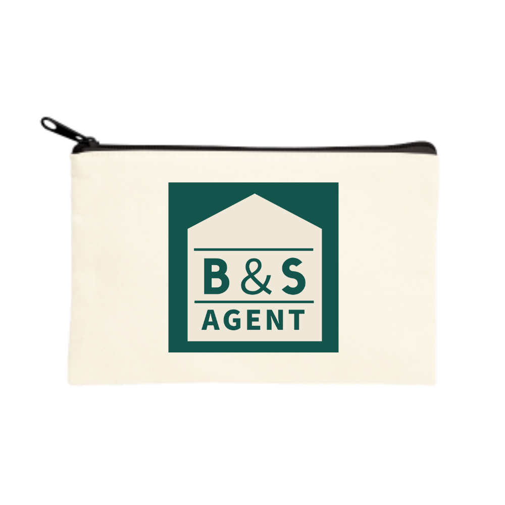 B&S AGENTのオフィシャルグッズ ポーチ(S)