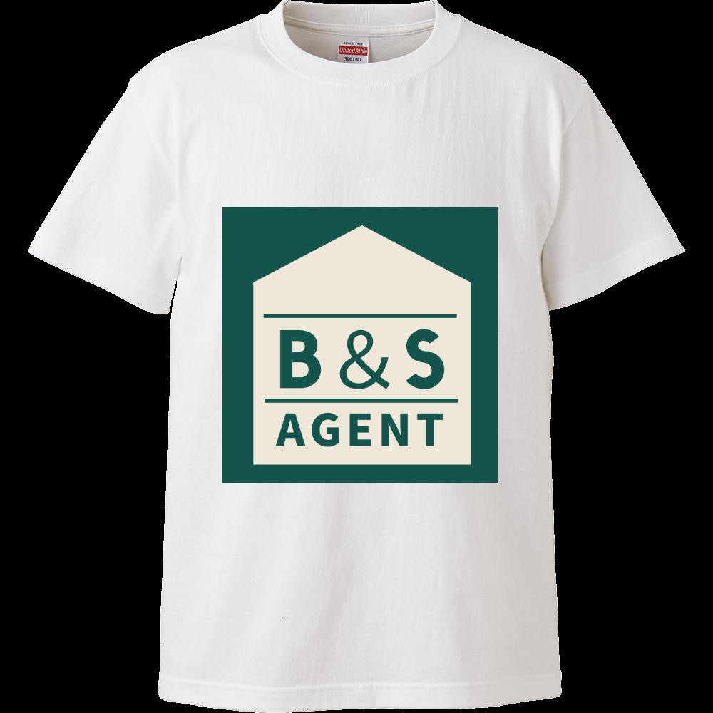 B&S AGENTのオフィシャルグッズ ハイクオリティーTシャツ