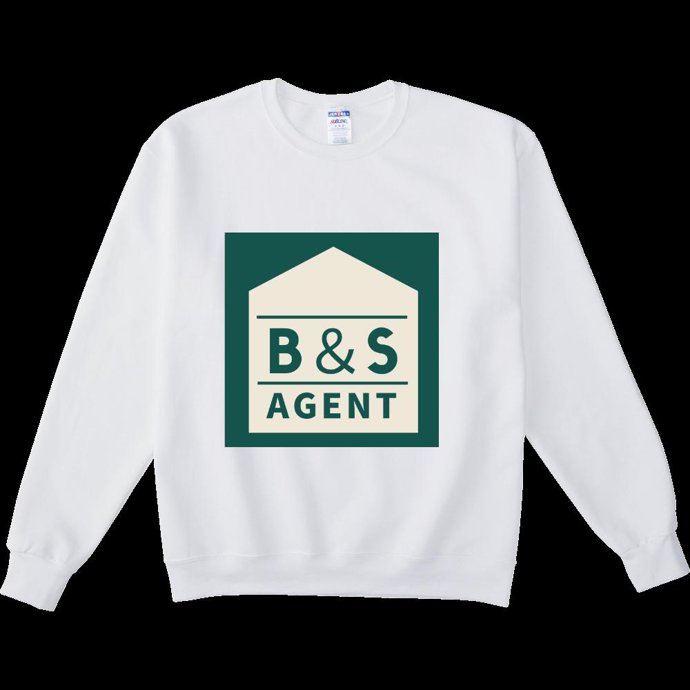 B&S AGENTのオフィシャルグッズ NUBLENDスウェットシャツ