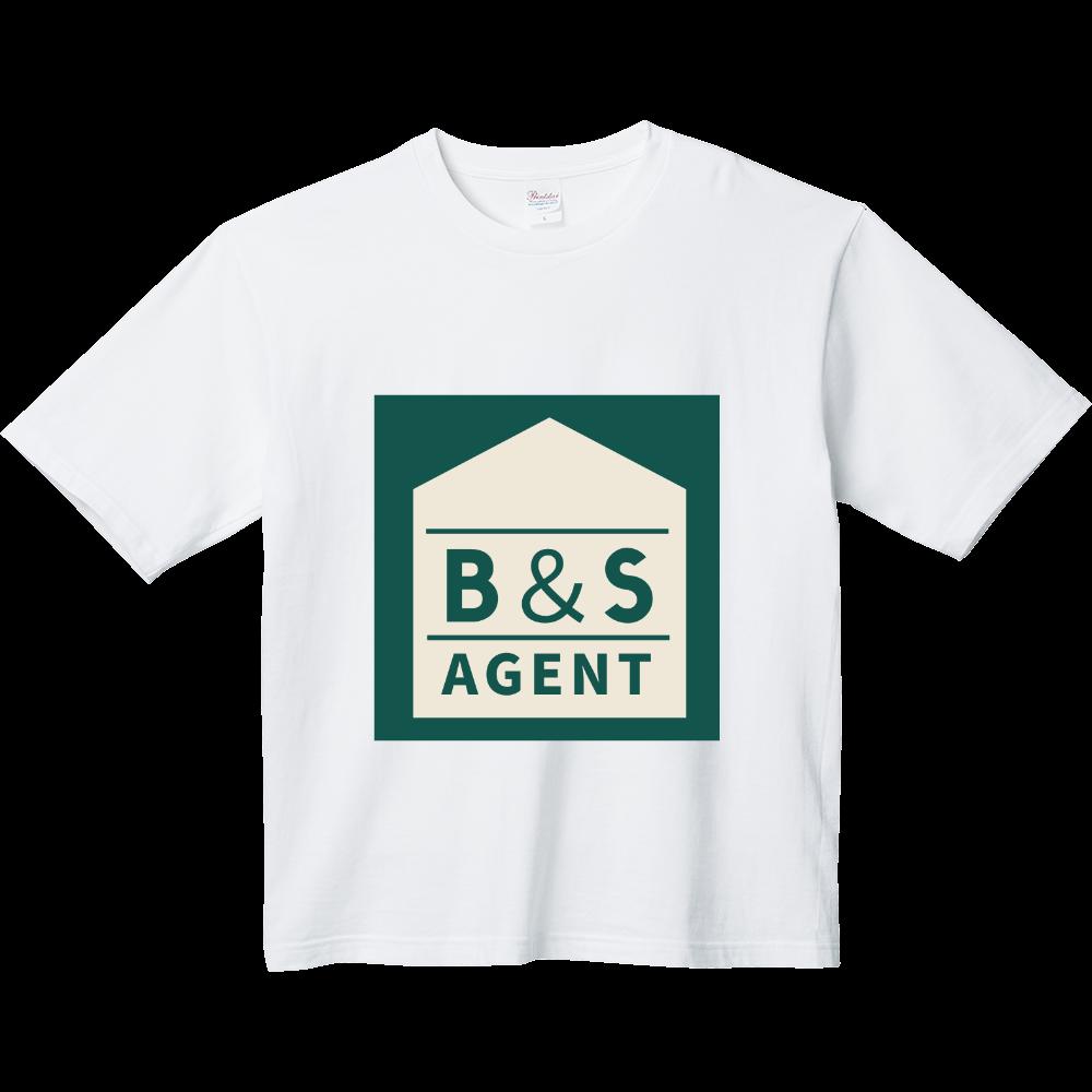 B&S AGENTのオフィシャルグッズ ヘビーウェイト ビッグシルエットTシャツ