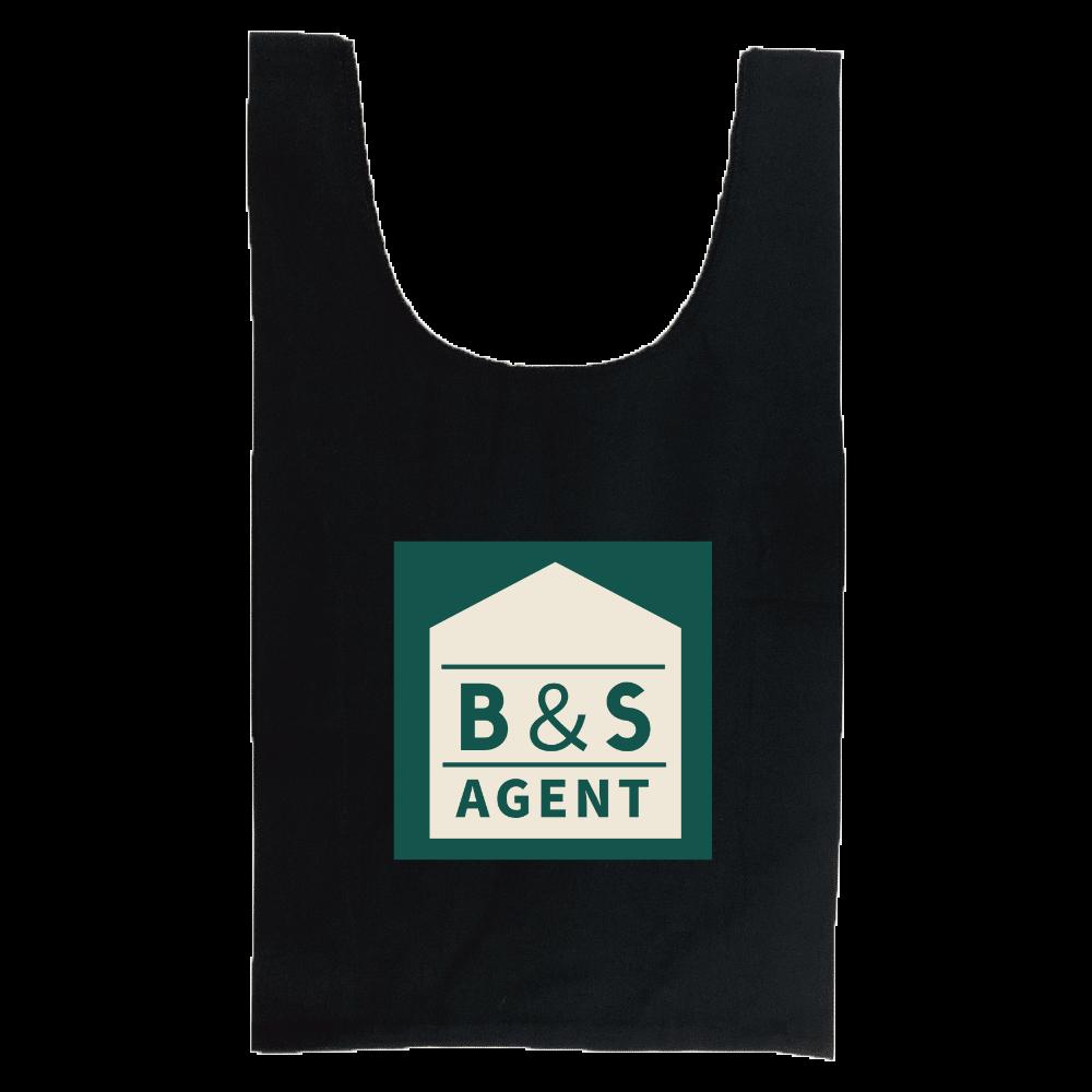 B&S AGENTのオフィシャルグッズ 厚手コットンマルシェバッグ(M)