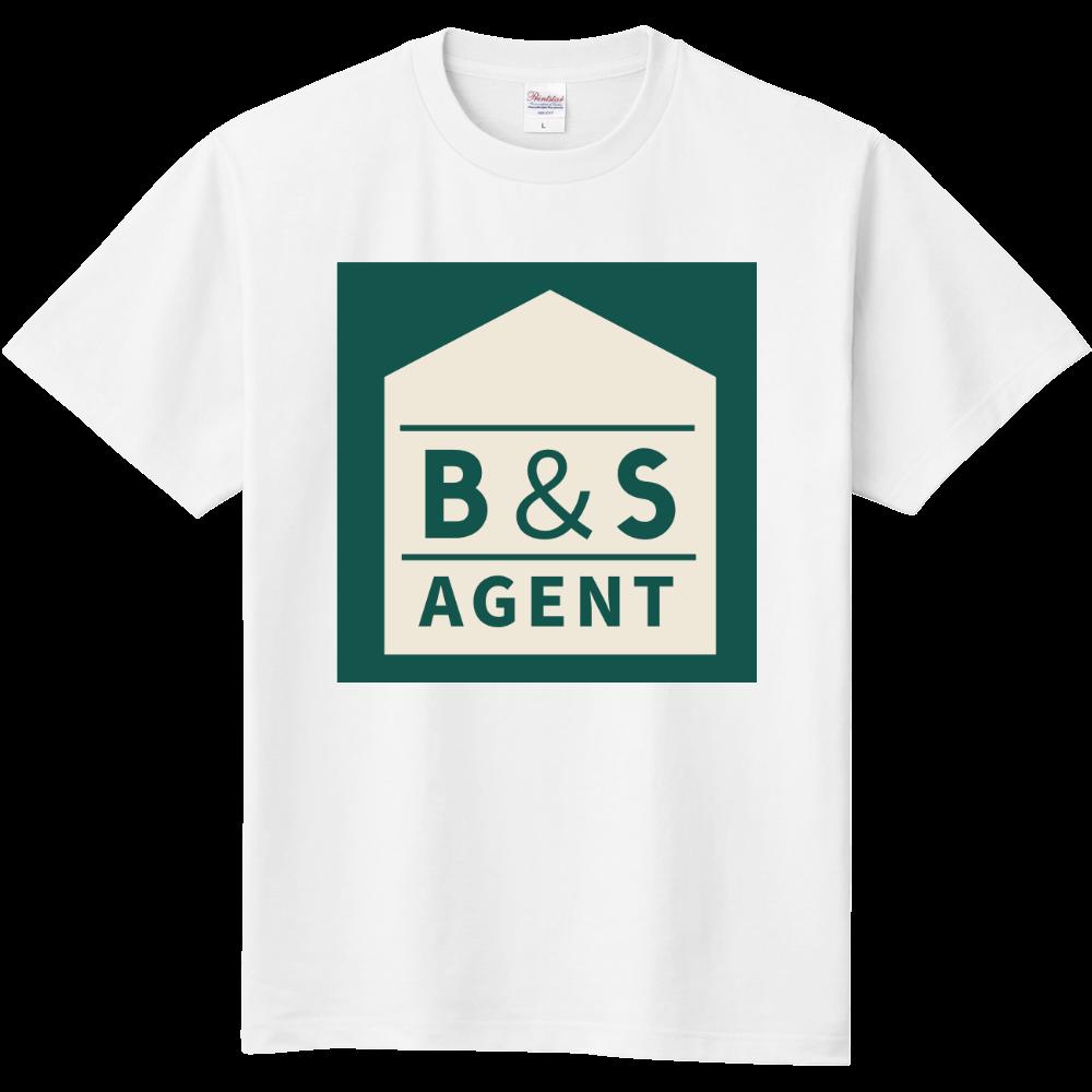 B&S AGENTのオフィシャルグッズ 定番Tシャツ