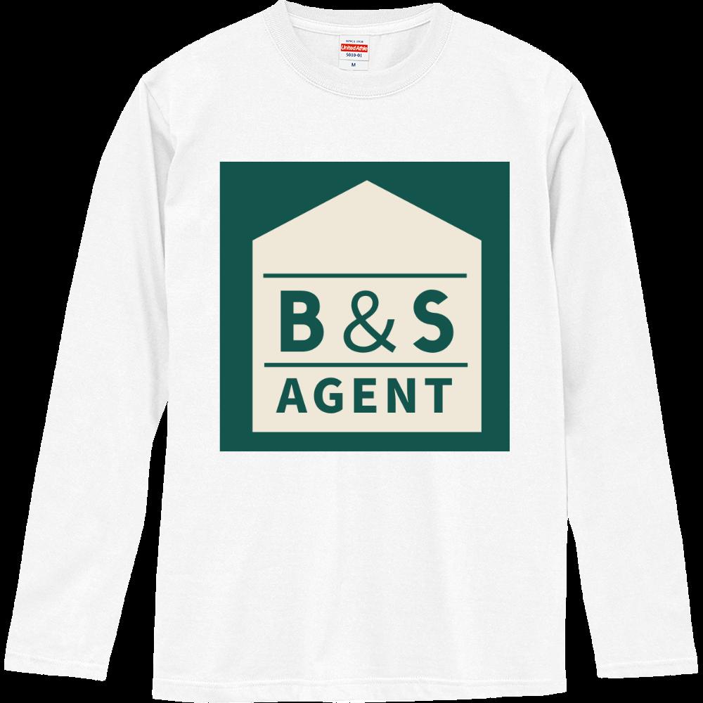 B&S AGENTのオフィシャルグッズ ロングスリーブTシャツ