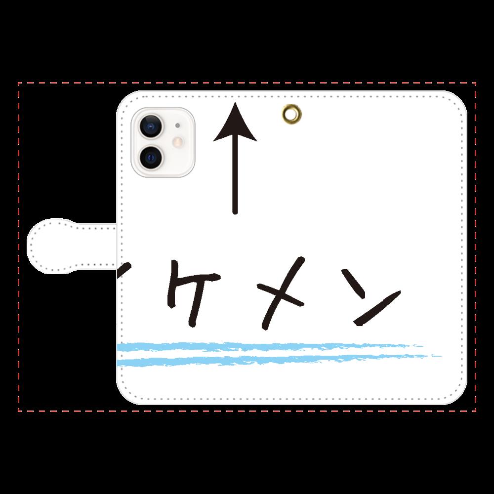 イケメン↑ iPhone12/12pro 手帳型スマホケース