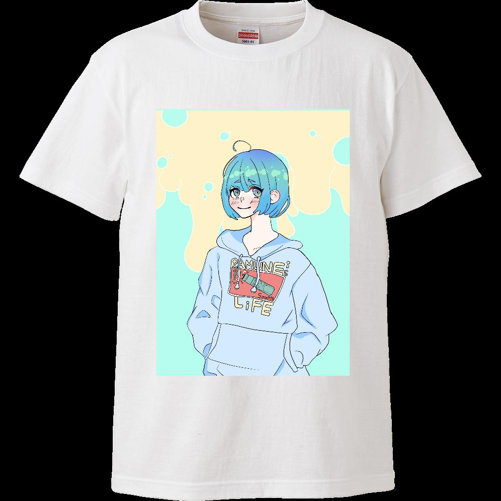 らむねちゃんシリーズ ハイクオリティーTシャツ