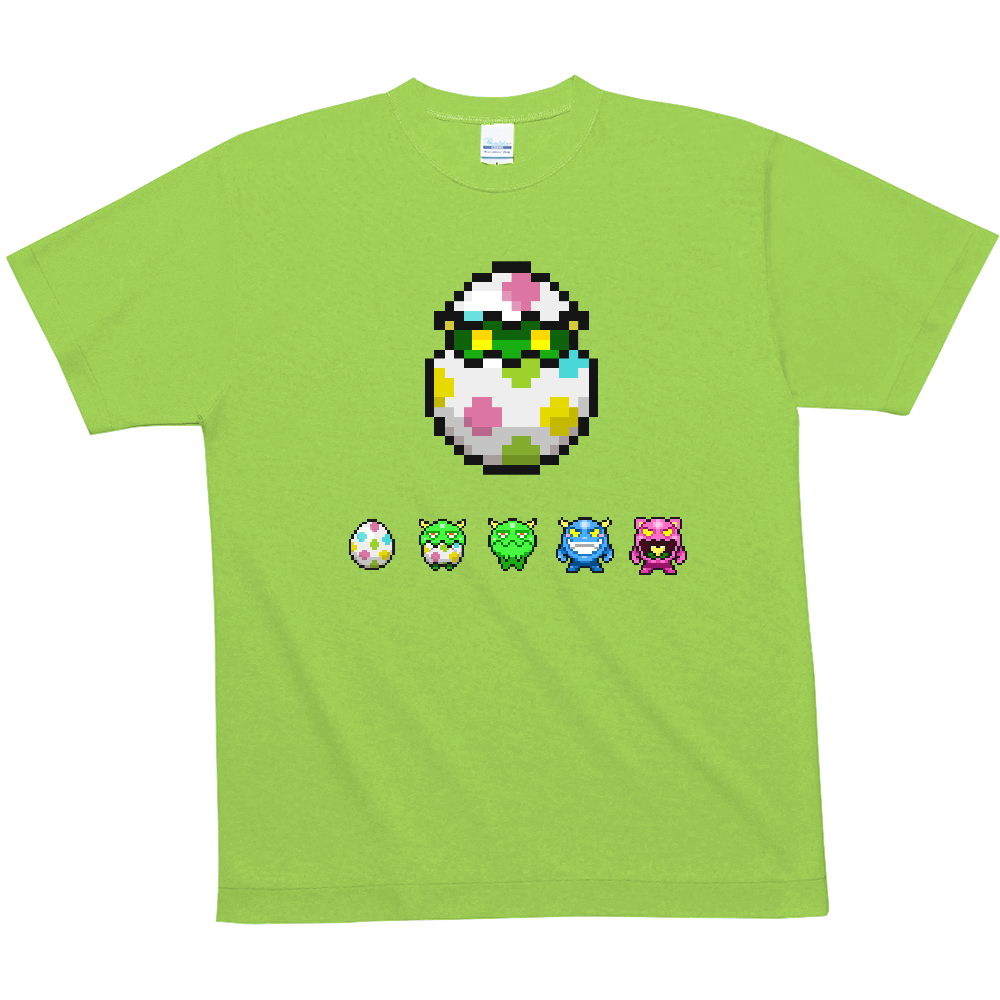 【全12色】夏メッシュTシャツ モンスターegger 4.6oz ハニカムメッシュTシャツ