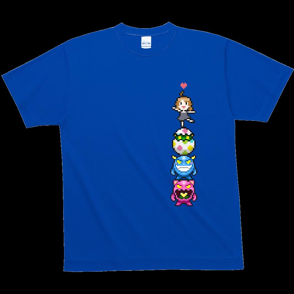 【全12色】夏メッシュTシャツ さくえだとモンスター 4.6oz ハニカムメッシュTシャツ