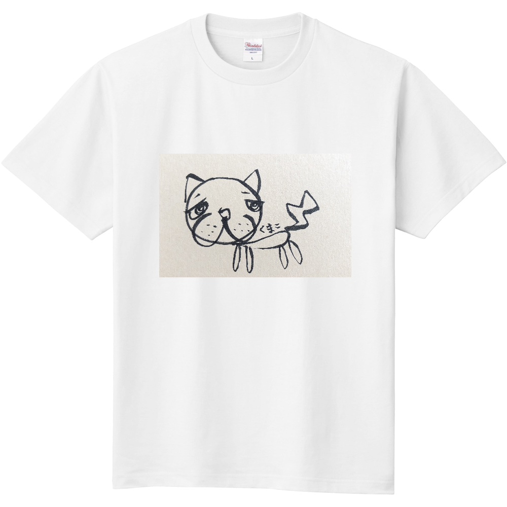 「2021年7月26日 11:03」に作成したデザイン 定番Tシャツ