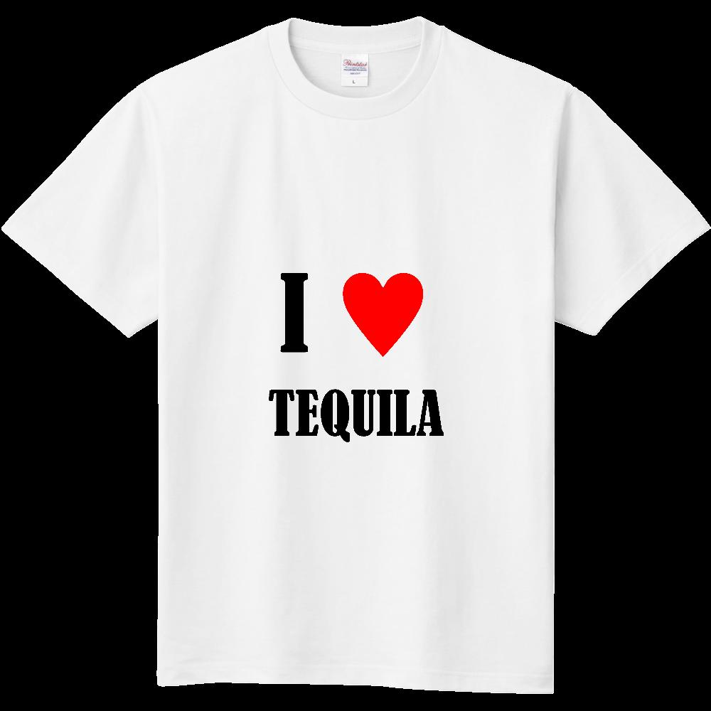 【お酒大好きシリーズ】I ♥ テキーラ 定番Tシャツ