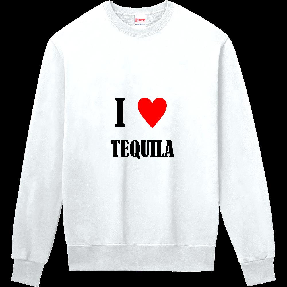 【お酒大好きシリーズ】I ♥ テキーラ 定番スウェット