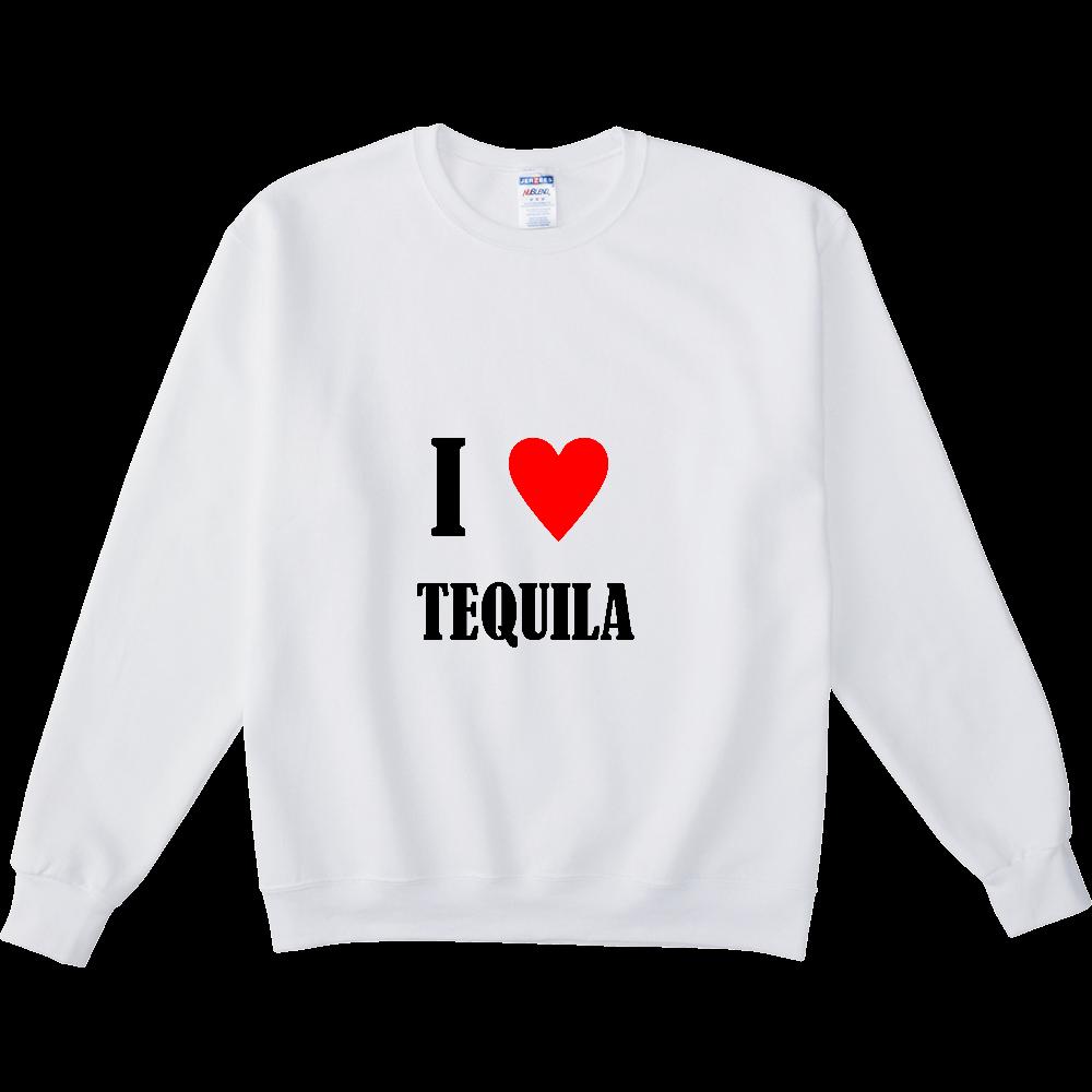 【お酒大好きシリーズ】I ♥ テキーラ NUBLENDスウェットシャツ