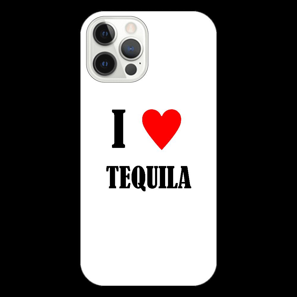 【お酒大好きシリーズ】I ♥ テキーラ iPhone12 Pro(透明)