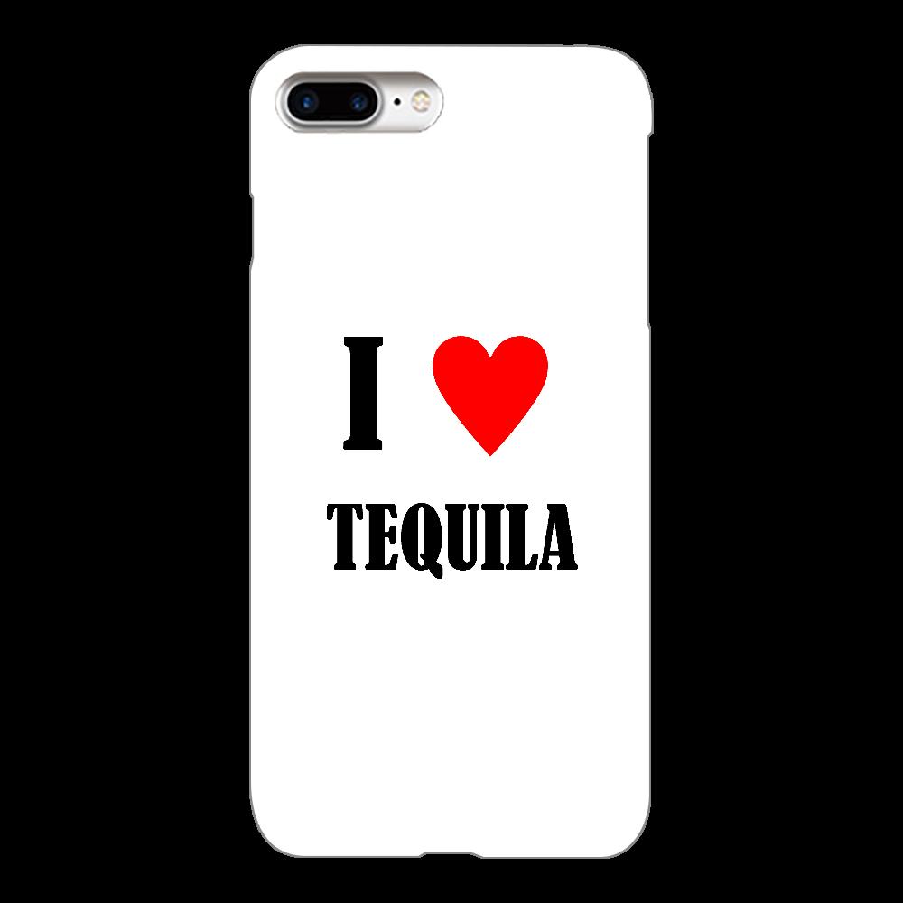 【お酒大好きシリーズ】I ♥ テキーラ iPhone8Plus(透明)