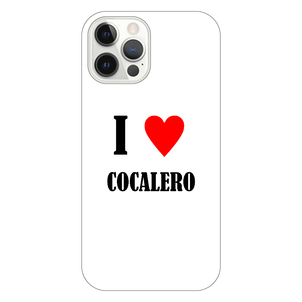【お酒大好きシリーズ】I ♥ コカレロ iPhone12 Pro(透明)