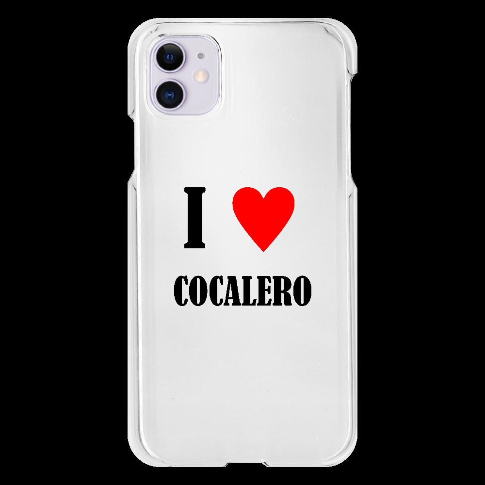 【お酒大好きシリーズ】I ♥ コカレロ iPhone11(透明)